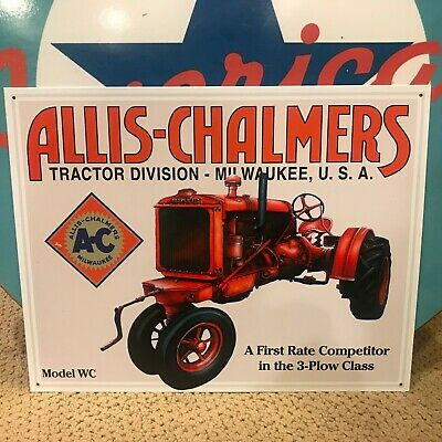 Vintage Allis-Chalmers Tractor Hat Lapel Pin