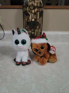 Ty Beanie Christmas Boos Snowfall And Howlidays