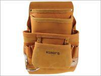 Kuny's Ap-i933 Carpenter's Nail & Tool Bag 10 Pocket Kunapi933