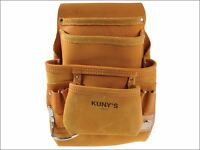 Kuny's Ap-i933 Carpenter's Nail & Tool Bag 10 Pocket Kunapi933