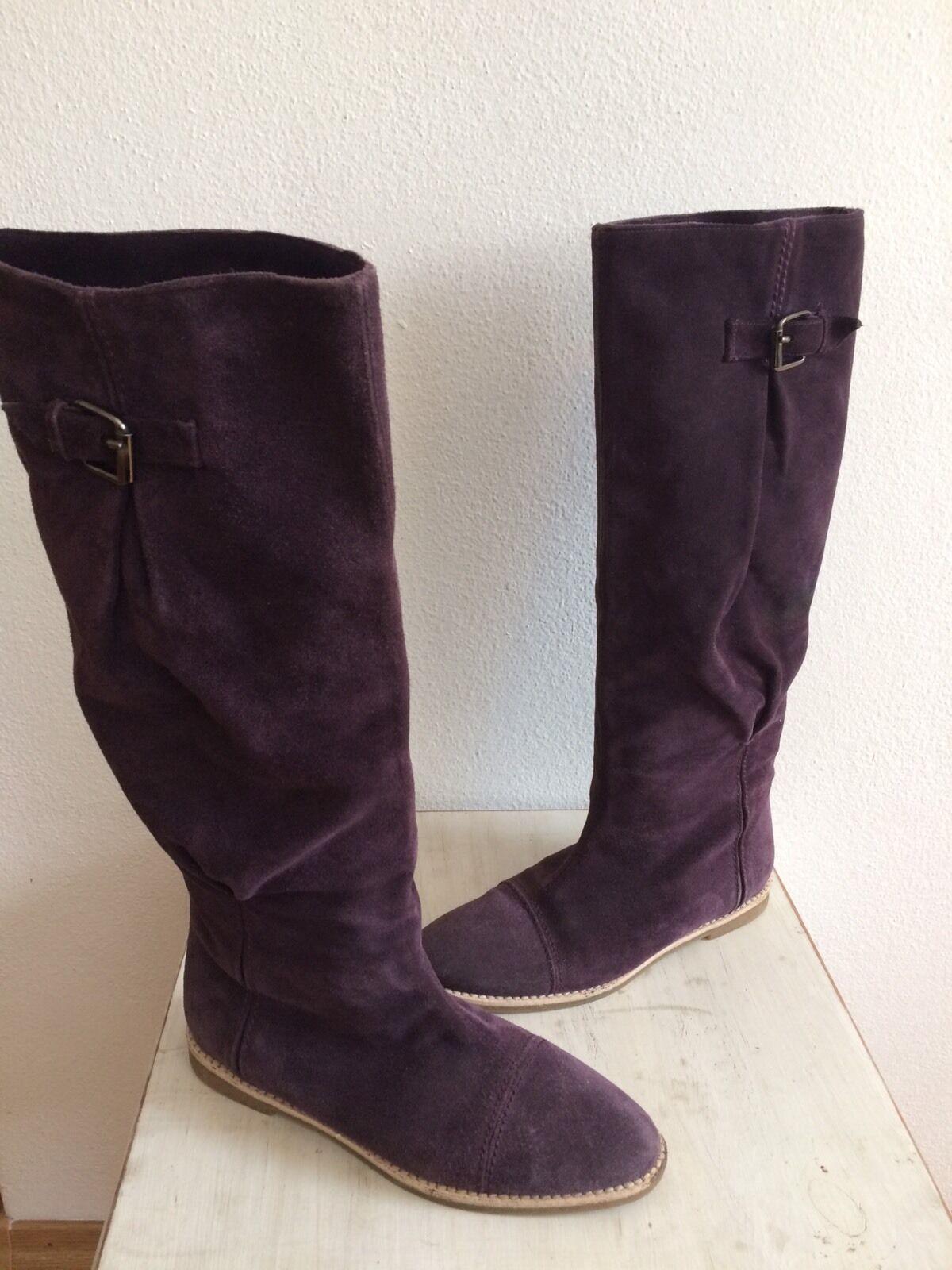 Wild Leder Stiefel zu Jeans Hose Rock Gr. 37 Conleys