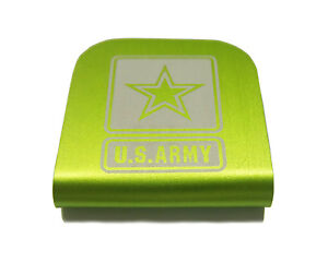 e350539a860b Details about U.S. Army Lime Green Hat Clip for Tactical Patch Caps by  Morale Tags