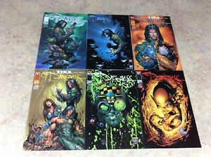 DARKNESS-7-8-9-10-11-12-LOT-OF-6-NM-1997-1998-TOP-COW-IMAGE