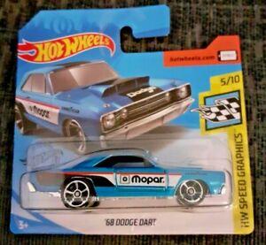 Mattel-Hot-Wheels-039-68-Dodge-Dart-Totalmente-Nuevo-Caja-Sellada
