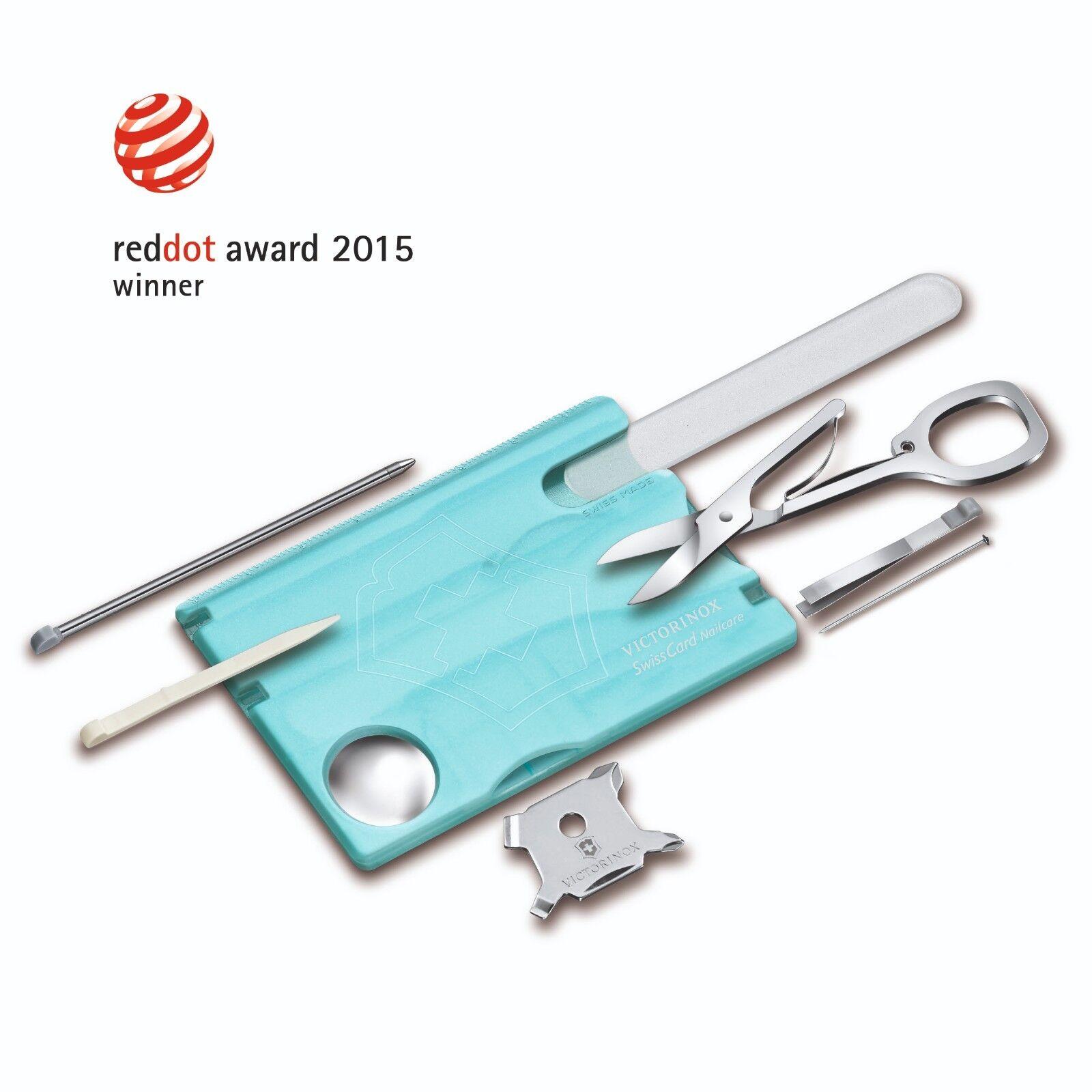 VICTORINOX Swisscard Nailcare Nailcare Nailcare Taschenwerkzeug blau 0.7240.T21    Verschiedene Arten Und Die Styles  7421bc