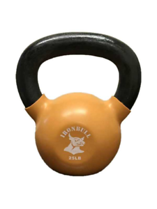 25 lb Kettlebell - Vinyl Coated and Solid Casting