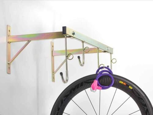 Porta biciclette a parete da 4 posti smontabile con anelli ART 3004 A