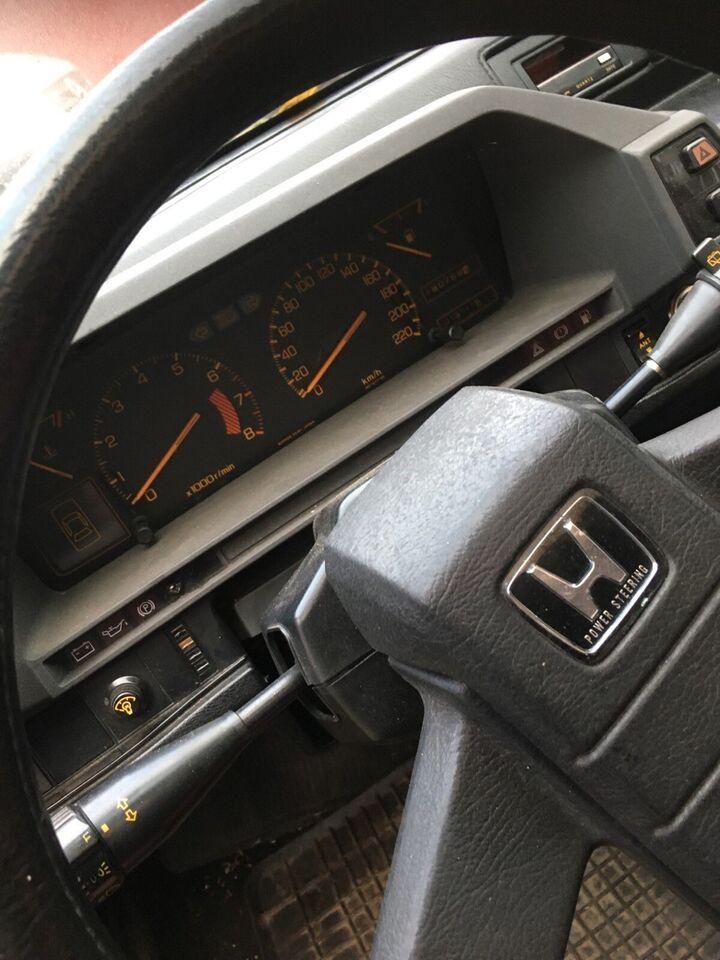 Honda Prelude, Benzin, 1985