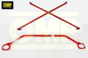 OMP-UPPER-amp-LOWER-STRUT-BRACE-PEUGEOT-207-GTi-THP-TURBO