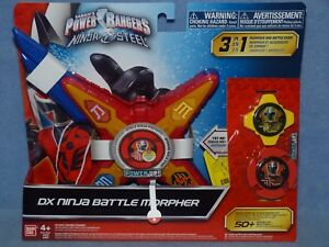 Power Rangers Ninja Steel - Dx  Battle Morpher NEW