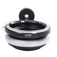 FOTGA Tilt  Adapter Canon EOS EF EF-S Lens to NEX-7 NEX-5 5T A6000 A5000 E Mount
