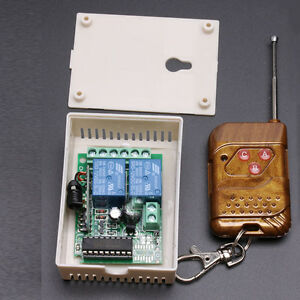 12V-Single-Channel-Fixed-Encoding-Wireless-Remote-Control-Switch