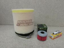 HONDA  97-15 TRX250  Recon   Air filter /& Spark Plug TRX 250 D
