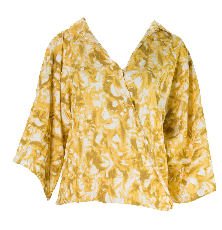 Gant Donna Caldo Sole Pittore Manica Kimono Scialle Camicia Camicia Camicia e4fc53