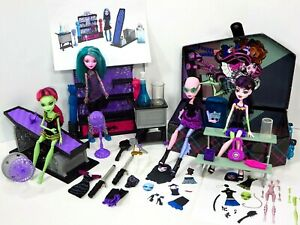 Monster-High-Dolls-Create-A-Monster-Doll-Witch-Vampire-Sea-Color-Creepy-Lot