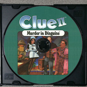 Clue-II-Murder-in-Disguise-VCR-Mystery-Game-DVD-Clue-2