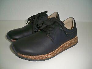 Birkenstock Wrigley Black Leather lace