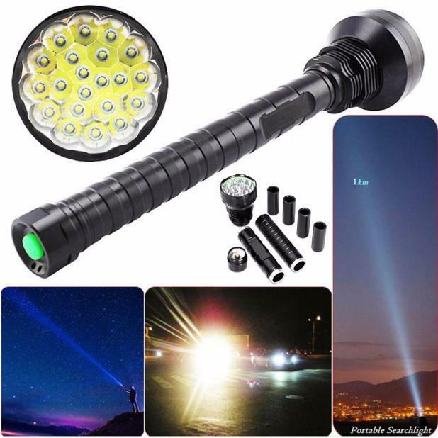 28000LM XM-L LED 21x T6 Flashlight Lamp 5  ModeS 26650 18650 Torch Light Bright  the most fashionable