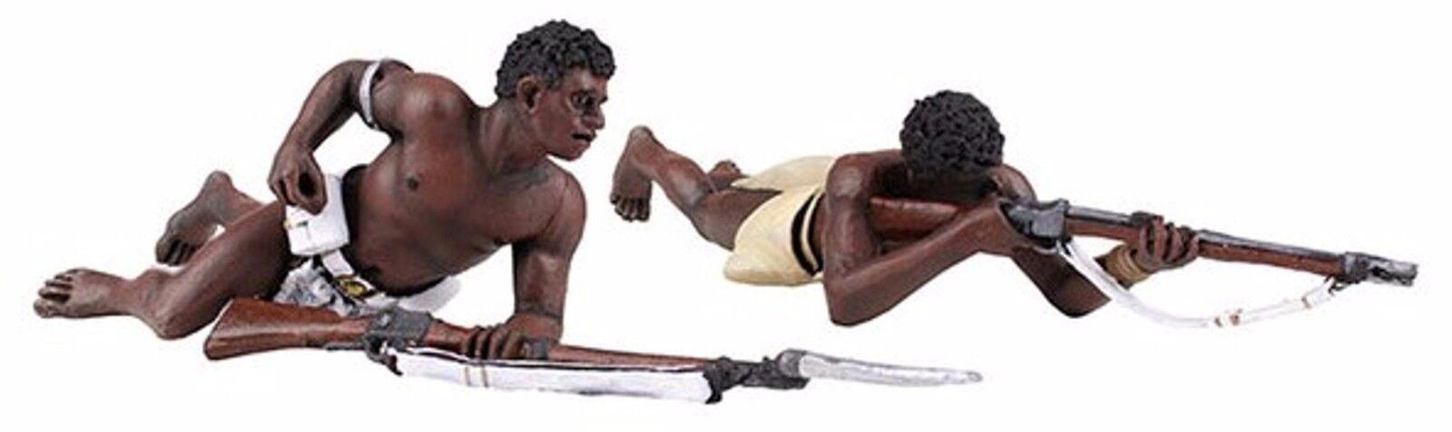 Britains Anglo Zulu Krieg 20172 Zulu-Krieger Anfällig Brennen & Ladung MIB