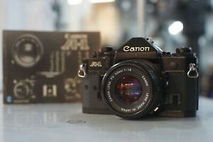 Canon-A-1-35mm-SLR-Film-Camera-with-50mm-F1-8-Lens