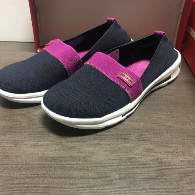 6f56d0a12dabf Rockport XCS Rock On Air Brand Women s Slip on  Color  Deep Ocean Gore Size