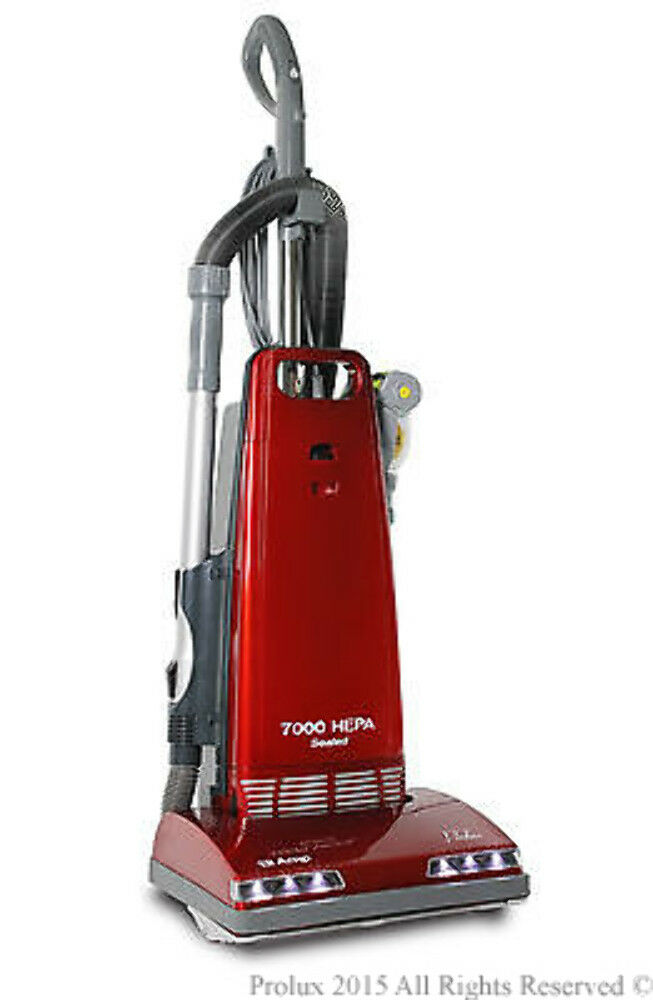 New Prolux 7000 Upright Sealed HEPA vacuum on board tools 7 Year Warranty