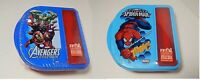 Marvel Zak Food Container W/ Fork & Spoon Spider-man / Avengers Assorted Designs
