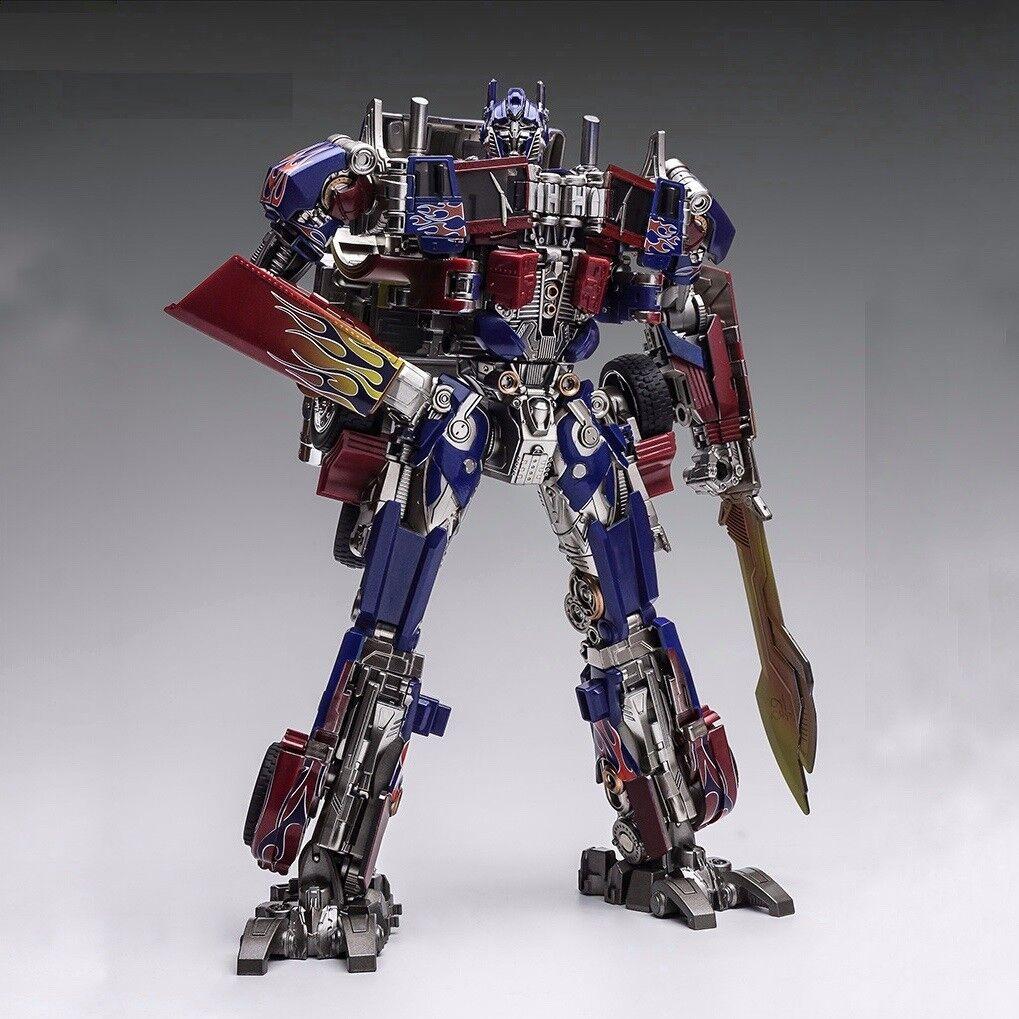 TRANSFORMERS - Optimus Prime SS05, overGrößed Figura de Accion 29 cm Wei Jiang