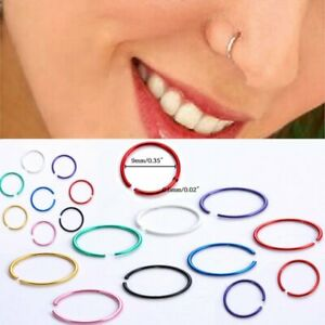 40pcs-316L-Stainless-Steel-Lot-Body-Nose-Lip-Open-Earring-Hoop-Ring-Stud-Jewelry