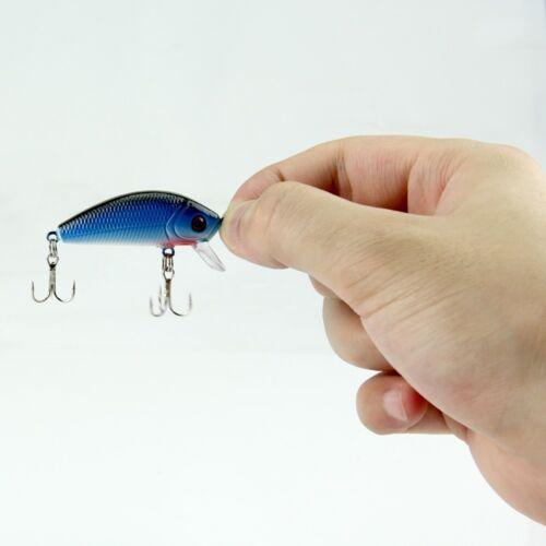 Lots Fishing Lures Crankbaits Hook Bait Tackle Minnow Shrimp 30//56Pcs