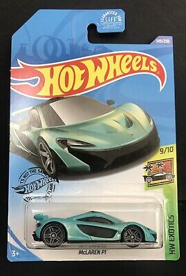 """McLAREN P1"" HW Exotics 9//10 Die-Cast Car NEW 149//250 Hot Wheels"