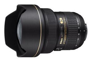 Nikon AF-S NIKKOR 14-24 mm f/2.8G ED Lens - Black - 2163