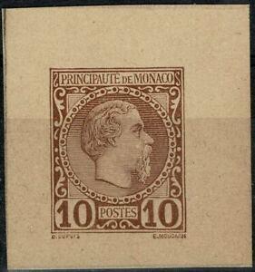 MONACO-ENTIERS-POSTAUX-Prince-Charles-III-1885-Neuf-Mint