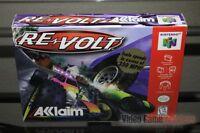 Re-volt (revolt) (nintendo 64, N64 1999) Factory Sealed - Excellent - Rare