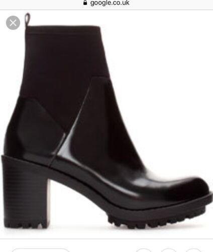 Ankle Neoprene Zara Boots Neoprene Zara q0wwaZ