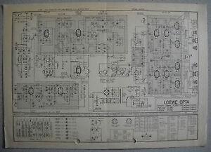LOEWE-OPTA-Typ-32280-Toronto-33282-Patrizier-33240-Ast-Schaltpl-Ausg-1-St-09-62