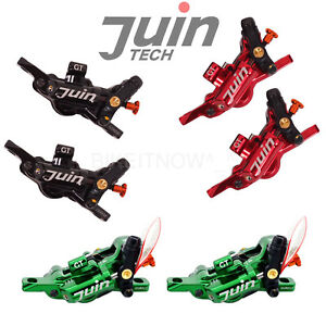 JUIN Tech GT-P 4 Pistons Light Weight MTB,Road,CX Bike Hydraulic Disc Brake set
