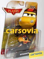 DYNAMITE - Planes Disney Fire & Rescue diecast 1:55 Cars Mattel Autos Flugzeuge