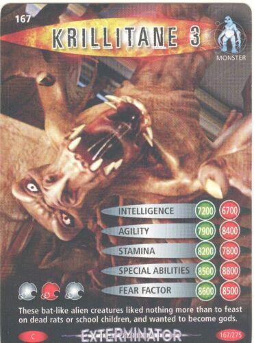Doctor Who Battles In Time Exterminator #167 Krillitane 3