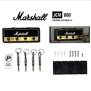 Marshall-Guitar-Keychain-Holder-Wall-Electric-Key-Rack-Amp-Vintage-Amplifier