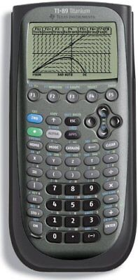 89t Ti Instruments Graphing 89 Calculator texas clm Titanium Texas Advanced qA8wCw
