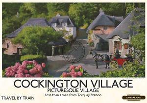 Sorry, torquay railway vintage poster