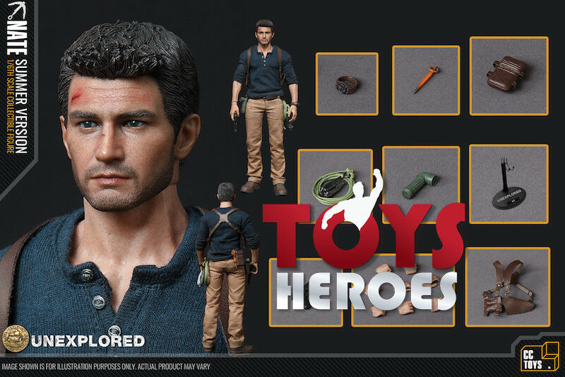 CCTOYS CCT01 UNCHARTED NATHAN DRAKE NATE UNTRICITY SUMMER VERSION Preorder