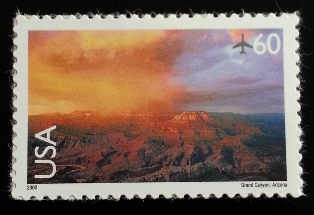 2000 60c Grand Canyon, Arizona Scott C135 Mint F/VF NH