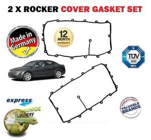 FOR-AUDI-A4-S4-ALLROAD-4-2-V8-QUATTRO-2002-gt-NEW-2-x-ROCKER-COVER-GASKET-SET