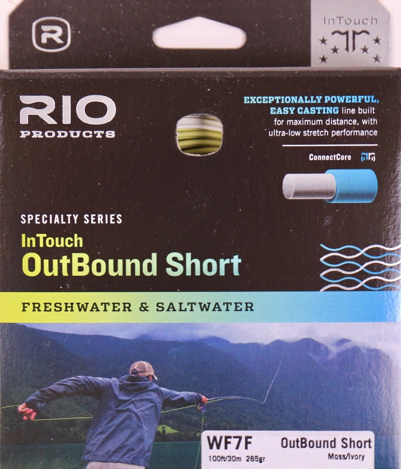 Rio InTouch Outbound Short WF7F 265 Grain Fly Line Free Fast Shipping 6-21302