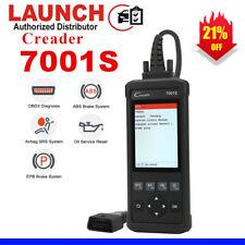 LAUNCH CR7001S OBD2 Car Code Reader ABS SRS Oil Reset Diagnostic Engine Scanner