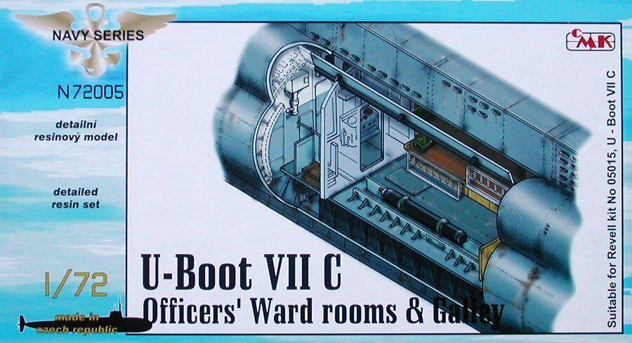 Cmk 1 72 U-Stiefel Typ Viic Offiziere Ward Zimmer & Galley für Revell  N72005  | Neues Design