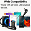 miniature 7 - Right Angle 90 Degree Android Charger Fast Charging Micro USB Cable 3/ 6/ 10 Ft