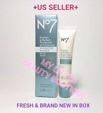 BOOTS NO 7 PROTECT & PERFECT ADVANCED Beauty Serum ANTI-AGING BNIB 1 fl.oz  TUBE